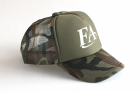 Кепка Fish Arrow Mesh Cap FA Green Camo/White