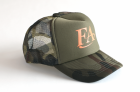 Кепка Fish Arrow Mesh Cap FA Green Camo/Orange