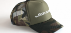Кепка Fish Arrow Mesh Cap Fish Arrow Green Camo/White