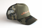 Кепка Fish Arrow Mesh Cap Fish Arrow Green Camo/Orange